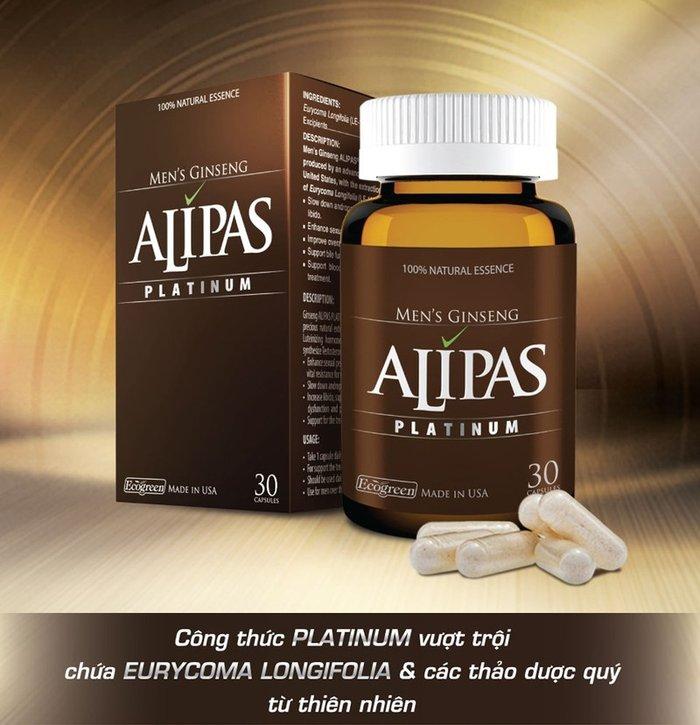 Sâm Alipas-Viên uống bổ thận sinh tinh cho nam giới 1