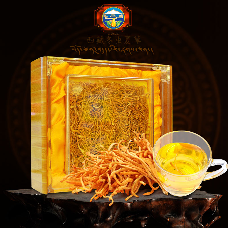 Nấm đông trùng hạ thảo Việt Nam sấy khô 100gr/hộp D205