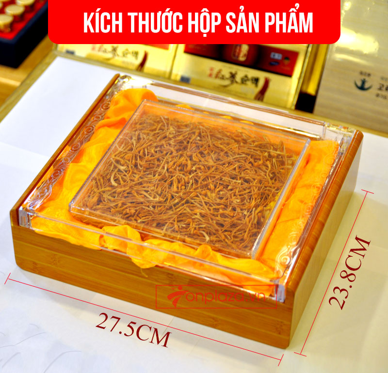 Nấm đông trùng hạ thảo Việt Nam sấy khô 100gr/hộp D205 2