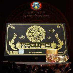 ĐTHT Hàn Quốc hộp gỗ 60 viên cao cấp D023