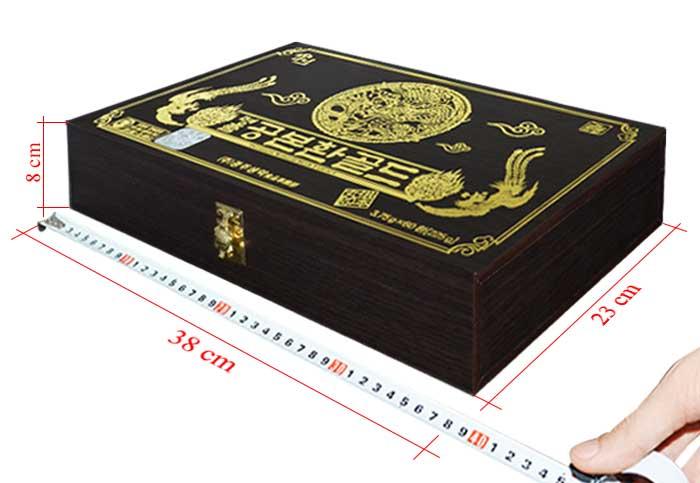 ĐTHT Hàn Quốc hộp gỗ 60 viên cao cấp D023 6